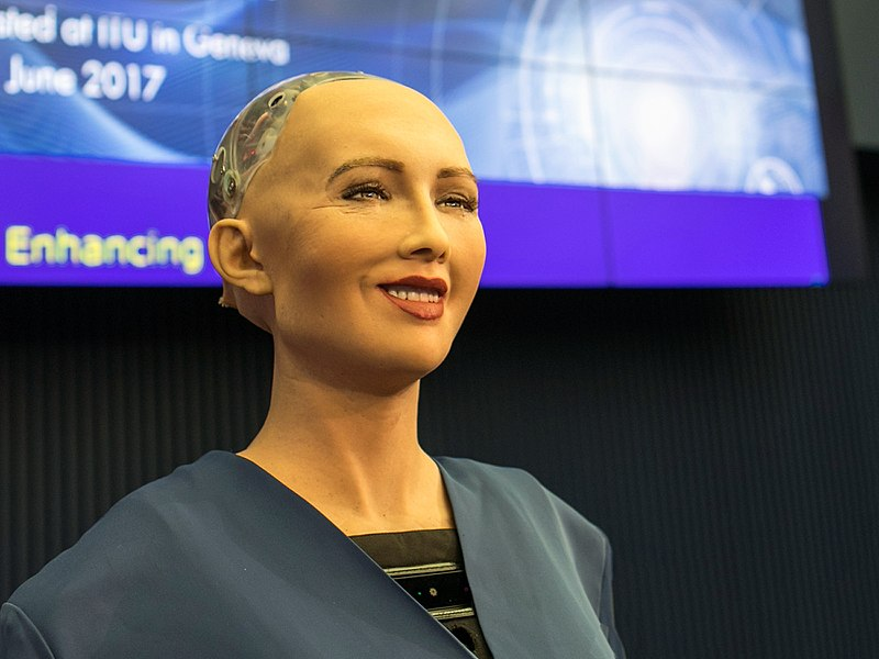 Robots may someday vote in our elections.